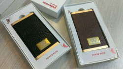 leather powerbank