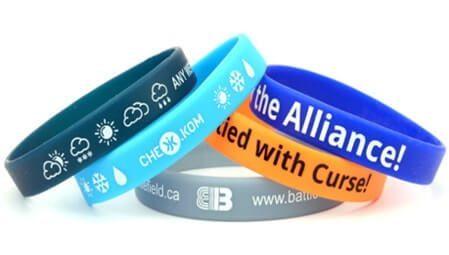 screen printed wristbands e1542103292107 - دستبند تبلیغاتی جدید